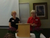 2013-14 Co-Presidents Nancy Cerveny and Mary Kratzer