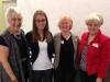 2013 Smith Scholarship Winner with former teacher (left) and Co-Presidents